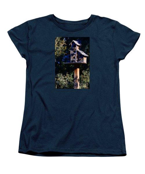 Bird Condos Women's T-Shirt (Standard Cut) by Robert WK Clark