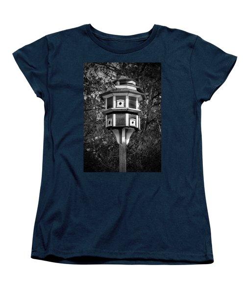 Bird House Women's T-Shirt (Standard Cut) by Jason Moynihan