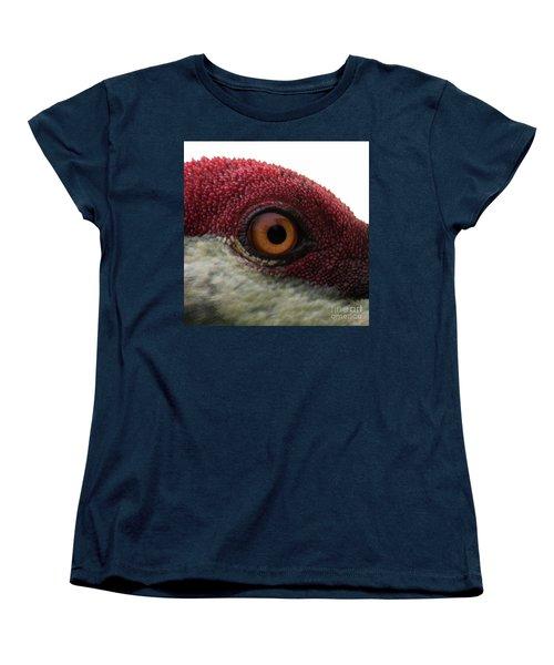 Birds Eye Women's T-Shirt (Standard Cut) by Brian Jones