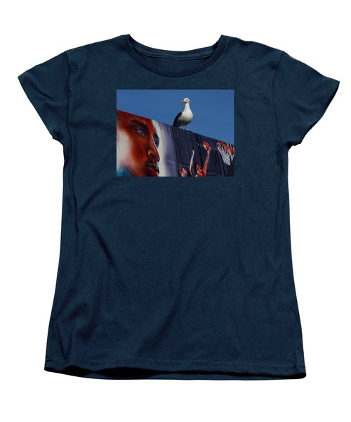 Birds Eye View Women's T-Shirt (Standard Cut) by Xn Tyler
