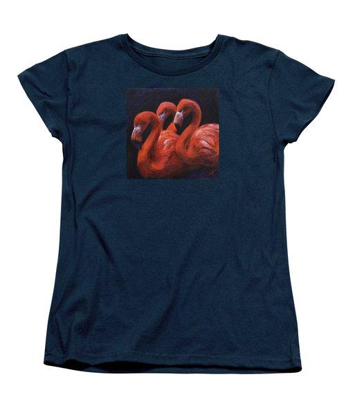 Birds Of A Feather Women's T-Shirt (Standard Cut) by Billie Colson
