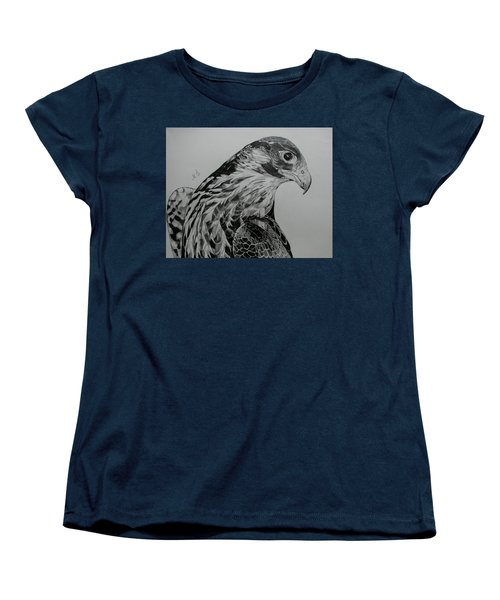 Birdy Women's T-Shirt (Standard Cut) by Melita Safran