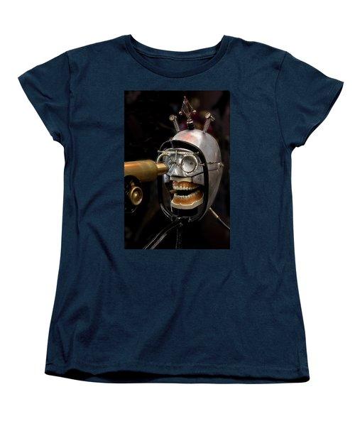 Bite The Bullet - Steampunk Women's T-Shirt (Standard Cut) by Betty Denise