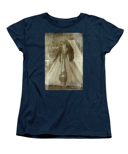 Bivouac Women's T-Shirt (Standard Cut) by Randall Cogle