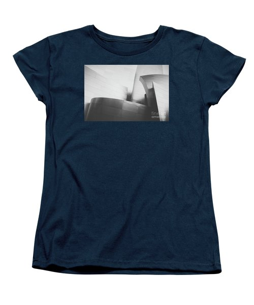 Women's T-Shirt (Standard Cut) featuring the photograph Black And White Arcitechture by MGL Meiklejohn Graphics Licensing