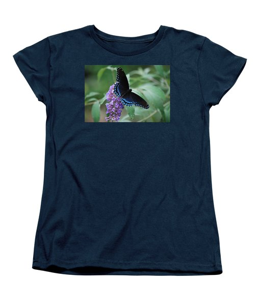 Black Beauty Women's T-Shirt (Standard Cut) by Lori Tambakis