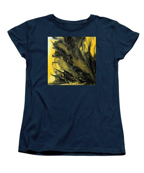 Black Dahlia Women's T-Shirt (Standard Cut) by Mary Kay Holladay