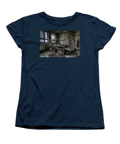 Women's T-Shirt (Standard Cut) featuring the digital art Black Lab by Nathan Wright