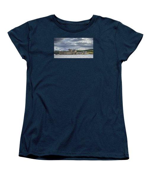 Blackness Castle Women's T-Shirt (Standard Cut) by Jeremy Lavender Photography