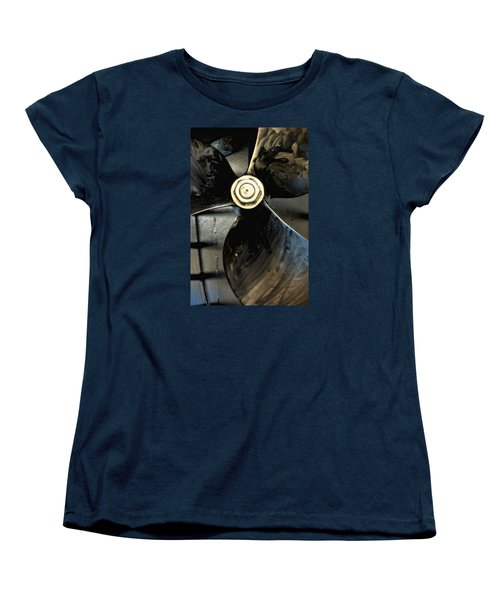 Women's T-Shirt (Standard Cut) featuring the photograph Blade by Newel Hunter