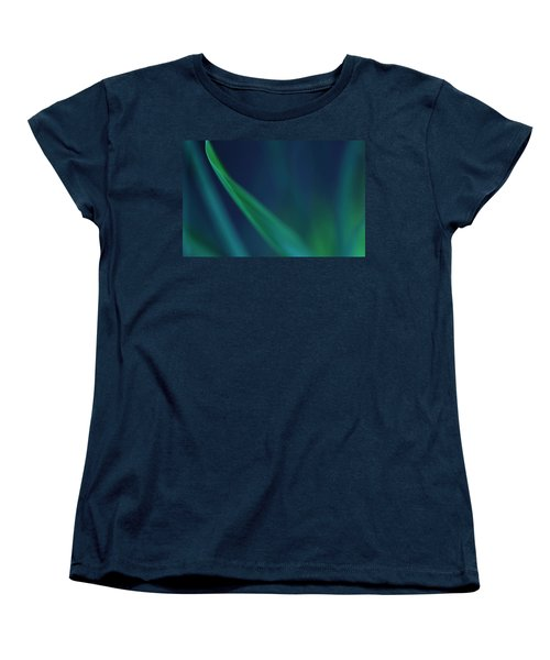 Blade Of Grass  Women's T-Shirt (Standard Cut) by Debbie Oppermann
