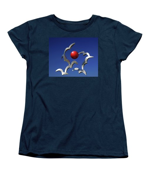 Women's T-Shirt (Standard Cut) featuring the photograph Blades And Ball by Christopher McKenzie