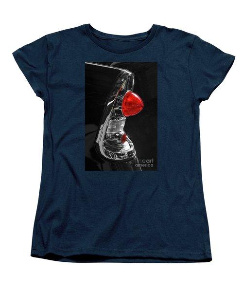Women's T-Shirt (Standard Cut) featuring the photograph Black '56 by Dennis Hedberg