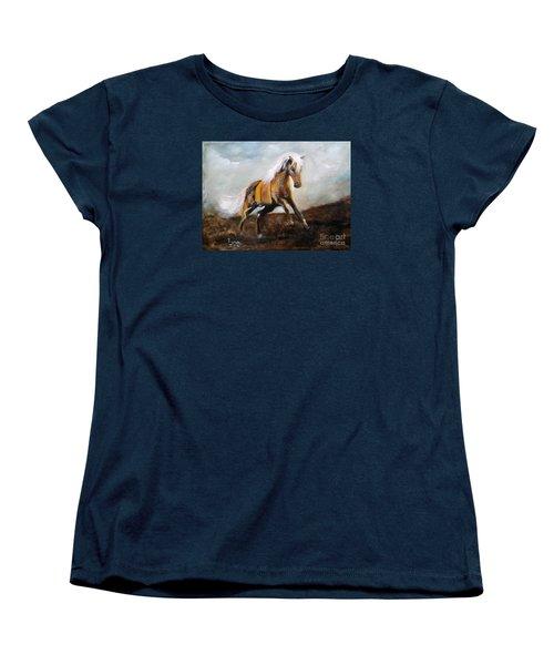 Blanket The War Pony Women's T-Shirt (Standard Cut) by Barbie Batson
