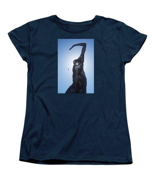 Women's T-Shirt (Standard Cut) featuring the photograph Bliss Dancer by Lora Lee Chapman