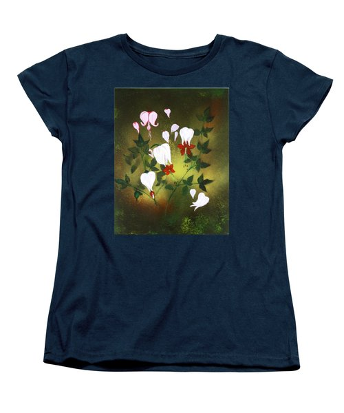 Blood Flower Women's T-Shirt (Standard Cut) by Tbone Oliver