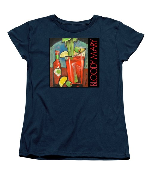 Bloody Mary Poster Women's T-Shirt (Standard Cut) by Tim Nyberg