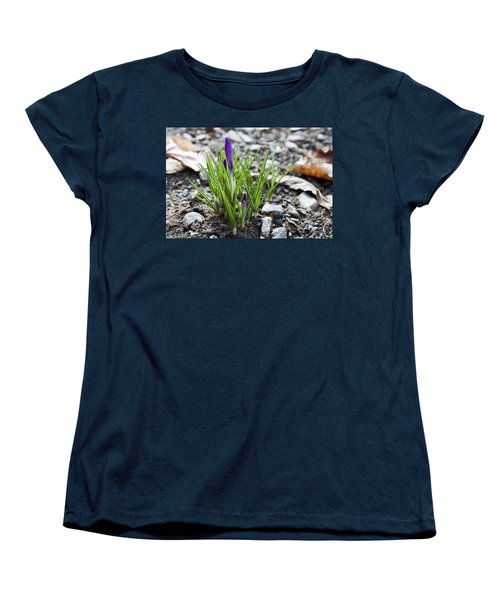 Bloom Awaits Women's T-Shirt (Standard Cut) by Jeff Severson