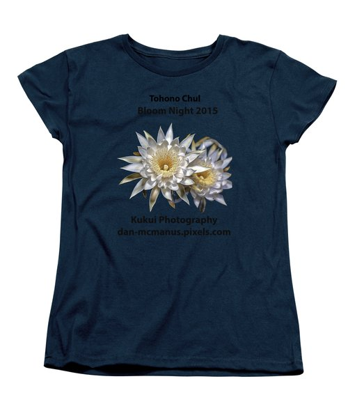 Bloom Night T Shirt Women's T-Shirt (Standard Cut) by Dan McManus