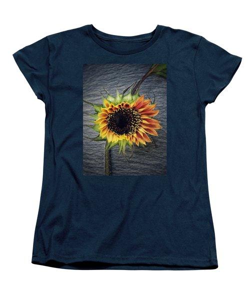 Women's T-Shirt (Standard Cut) featuring the photograph Blooming by Karen Stahlros