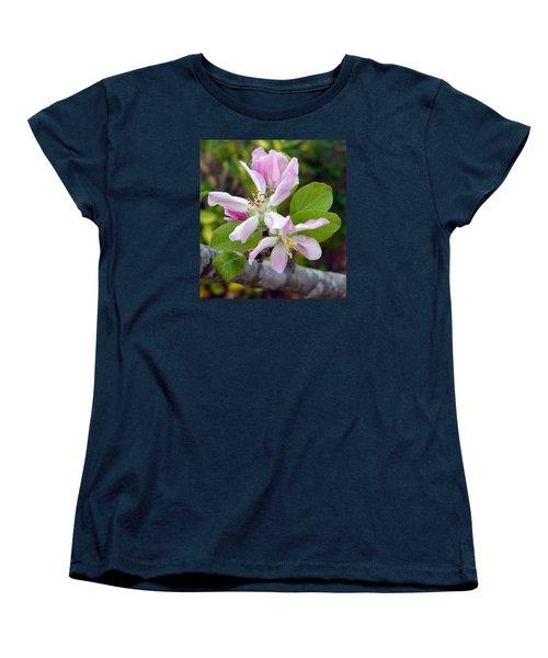 Blossom Duet Women's T-Shirt (Standard Cut) by Carla Parris