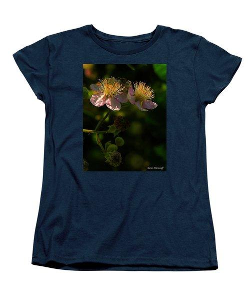 Blossoms 3 Women's T-Shirt (Standard Cut) by Steve Warnstaff