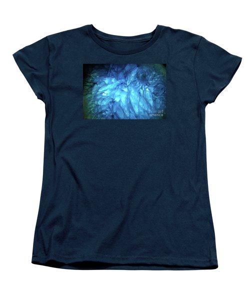 Blue Agate Women's T-Shirt (Standard Cut) by Nicholas Burningham
