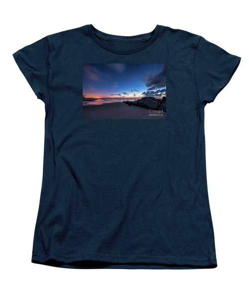 Blue Betsy Sunrise Women's T-Shirt (Standard Cut) by Robert Loe