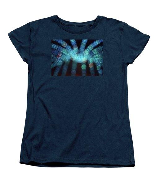 Women's T-Shirt (Standard Cut) featuring the photograph Blue Boogie by Laurie Stewart