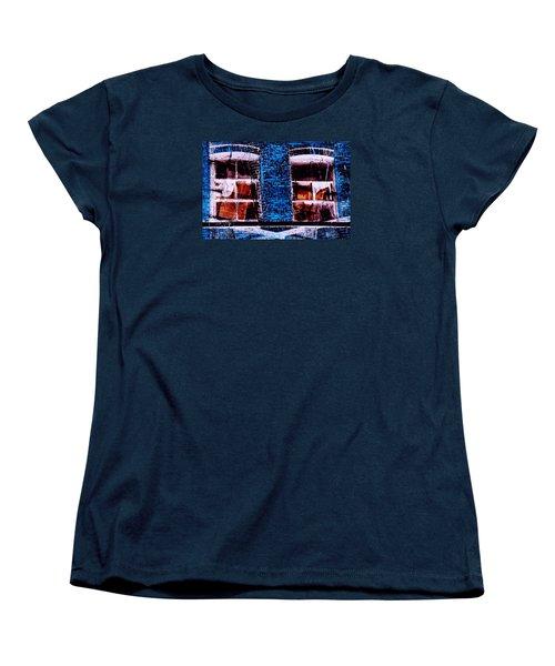 Blue Bricks Women's T-Shirt (Standard Cut)
