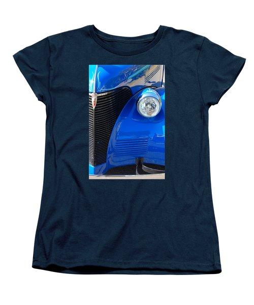 Blue Chevy Women's T-Shirt (Standard Cut) by Donna Bentley