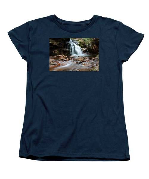 Women's T-Shirt (Standard Cut) featuring the photograph Blue Hole In Spring #3 by Jeff Severson