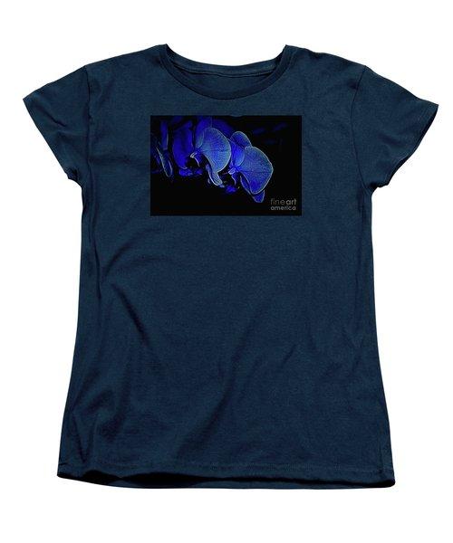 Blue Light Women's T-Shirt (Standard Cut) by Diana Mary Sharpton
