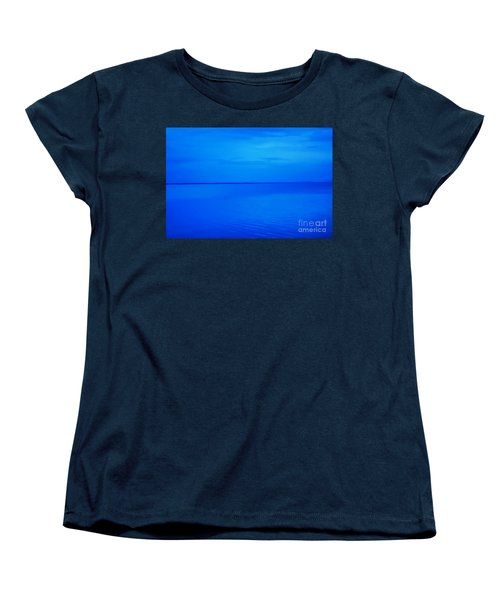 Blue Ocean Twilight Women's T-Shirt (Standard Cut) by Randy Steele