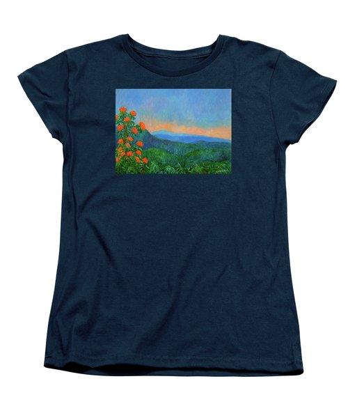 Blue Ridge Morning Women's T-Shirt (Standard Cut) by Kendall Kessler