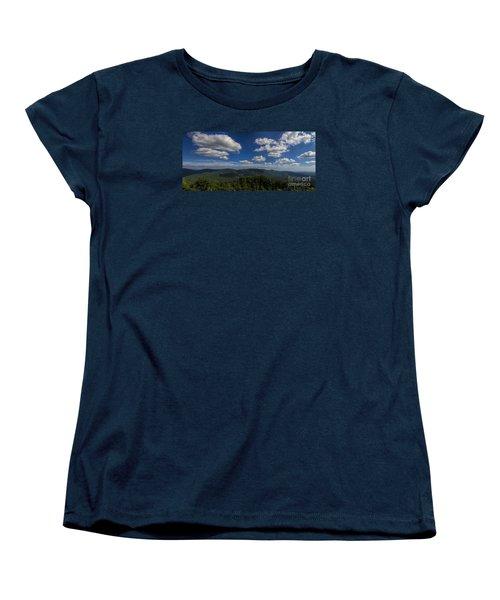 Blue Ridge Mountains Women's T-Shirt (Standard Cut)
