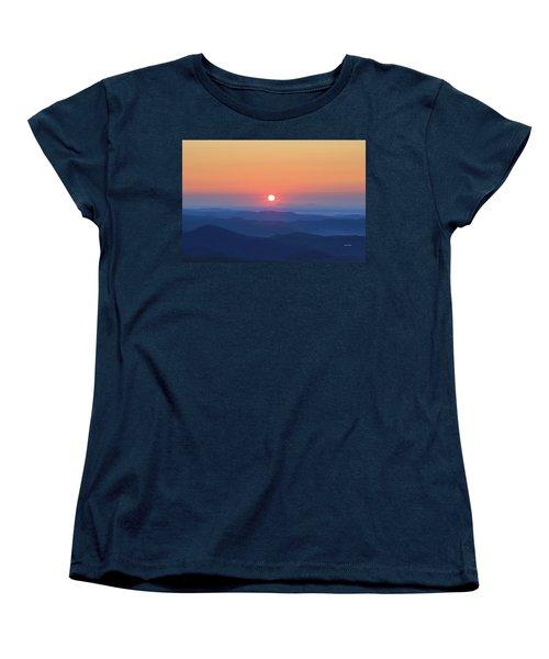 Blue Ridge Sunrise Women's T-Shirt (Standard Cut) by Dale R Carlson