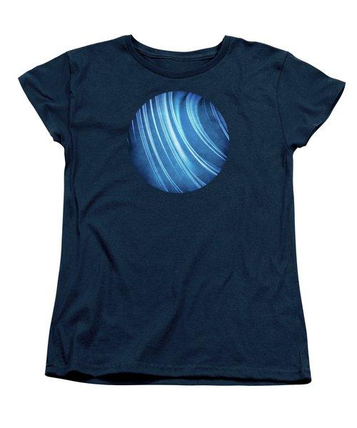 Blue Ridges Fractal Women's T-Shirt (Standard Cut) by Phil Perkins
