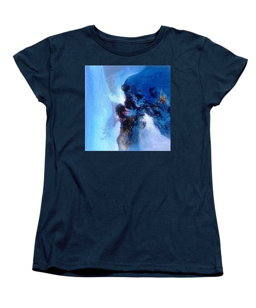 Blue Sea Women's T-Shirt (Standard Cut) by Sanjay Punekar