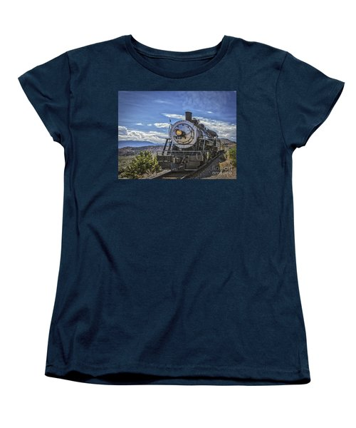 Blue Sky Nevada. Women's T-Shirt (Standard Cut) by Mitch Shindelbower