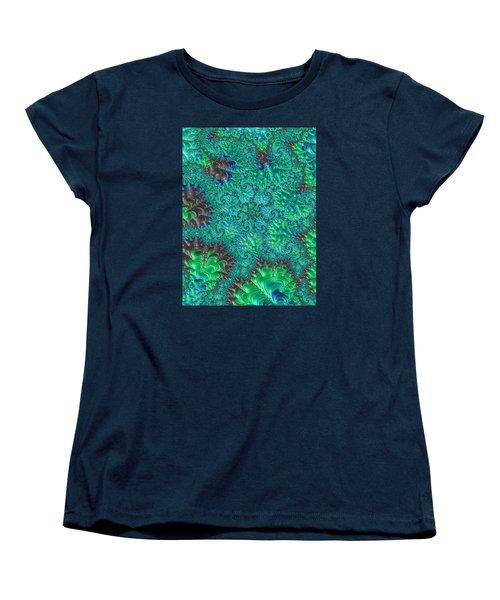 Women's T-Shirt (Standard Cut) featuring the photograph Blue Starfish by Ronda Broatch