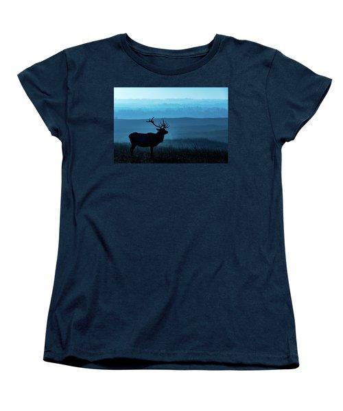 Blue Sunrise Women's T-Shirt (Standard Cut) by Jay Stockhaus