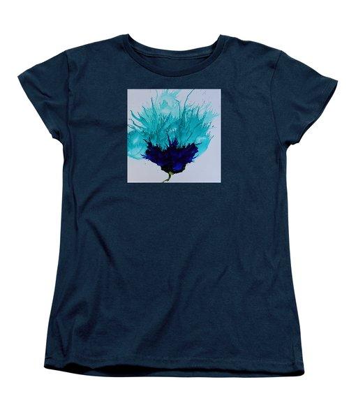 Blue Thistle Women's T-Shirt (Standard Cut)