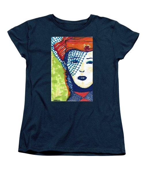Blue Veil Women's T-Shirt (Standard Cut) by Don Koester
