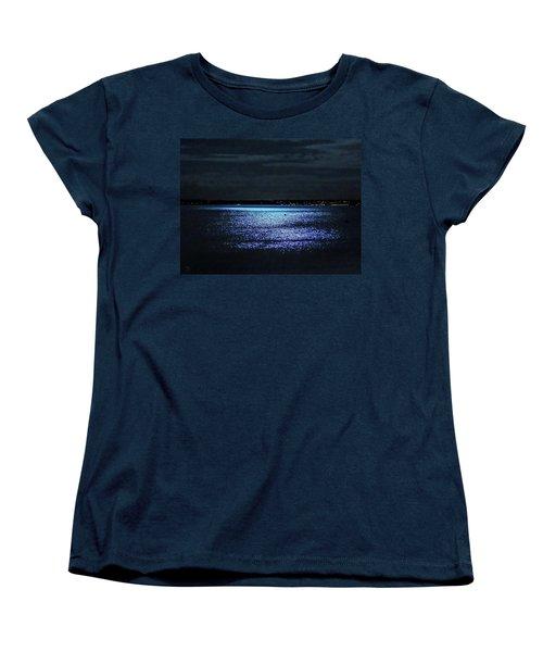 Blue Velvet Women's T-Shirt (Standard Cut) by Glenn Feron
