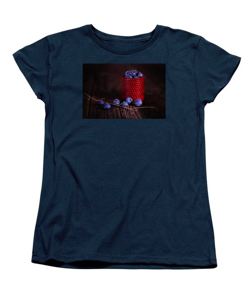Blueberry Delight Women's T-Shirt (Standard Cut) by Tom Mc Nemar