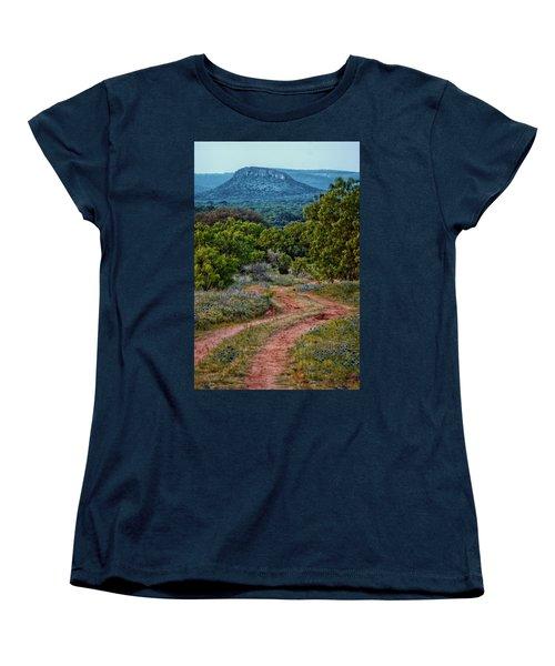 Bluebonnet Road Women's T-Shirt (Standard Cut)