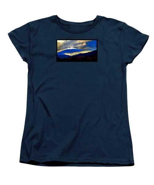 Blueray Winter New Mexico Women's T-Shirt (Standard Cut) by Susanne Still