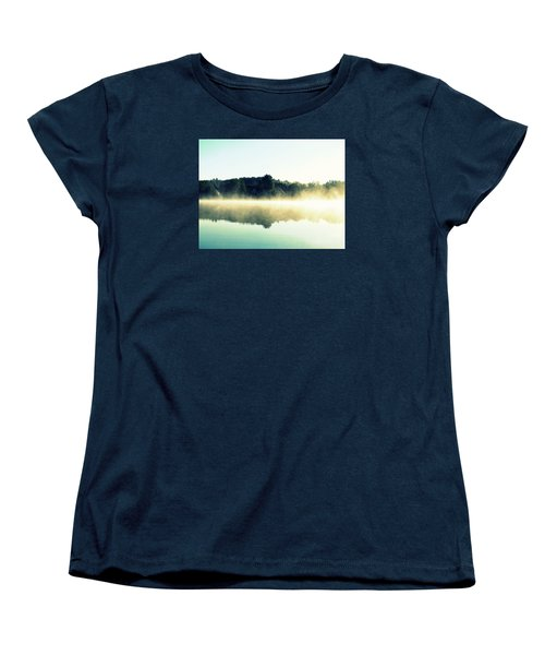 Blurry Morning Women's T-Shirt (Standard Cut) by France Laliberte