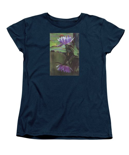 Blush Of Purple Women's T-Shirt (Standard Cut) by Suzanne Gaff
